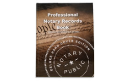 NRB-HC - Deluxe Professional Notary Records Book™