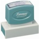 XStamper, The leader in pre-inked custom stamps. This stamps comes ready for up to 50,000 impressions.